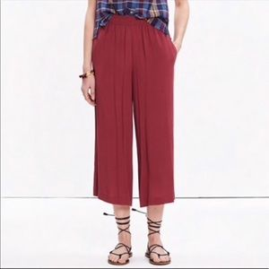 Madewell Clemente Wide Leg Pull on Pants